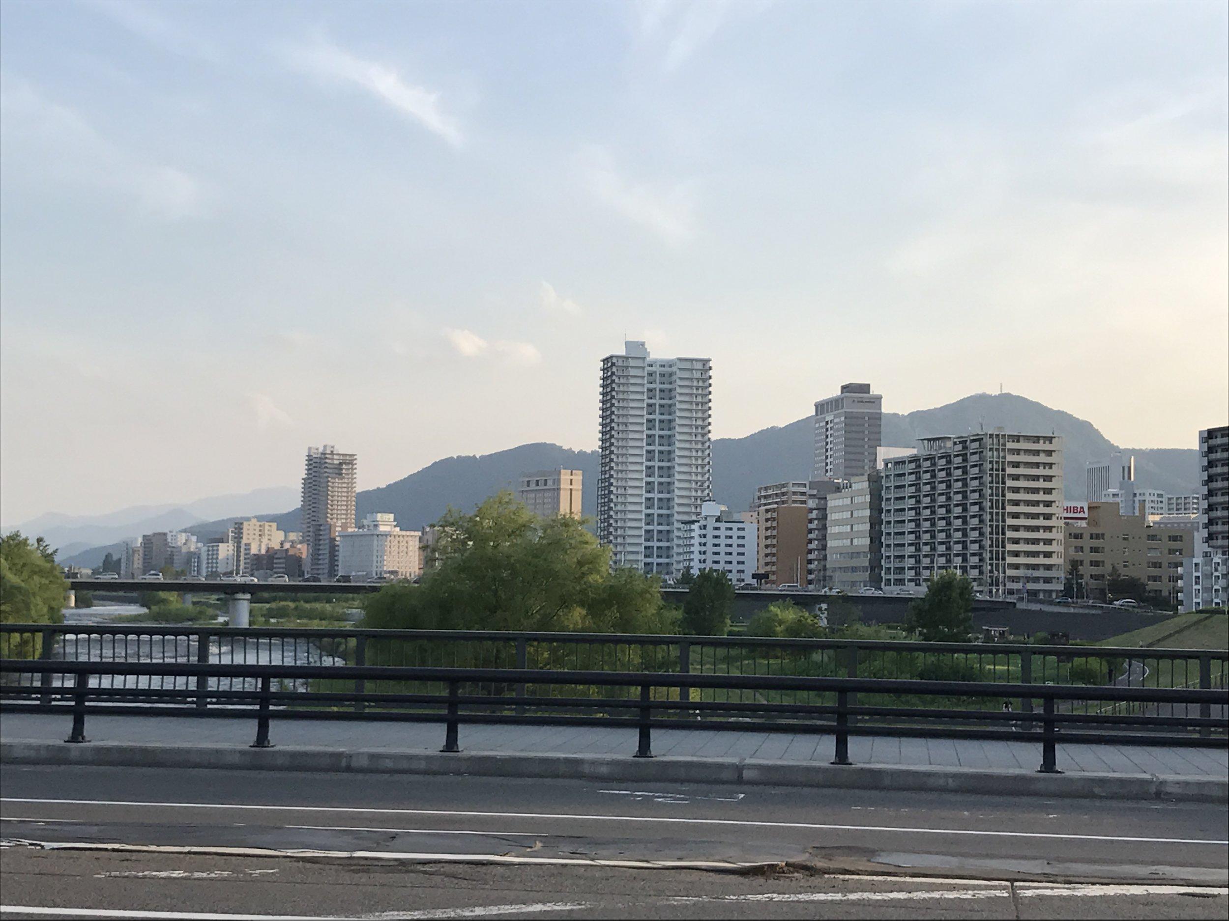 Mountains near Sapporo