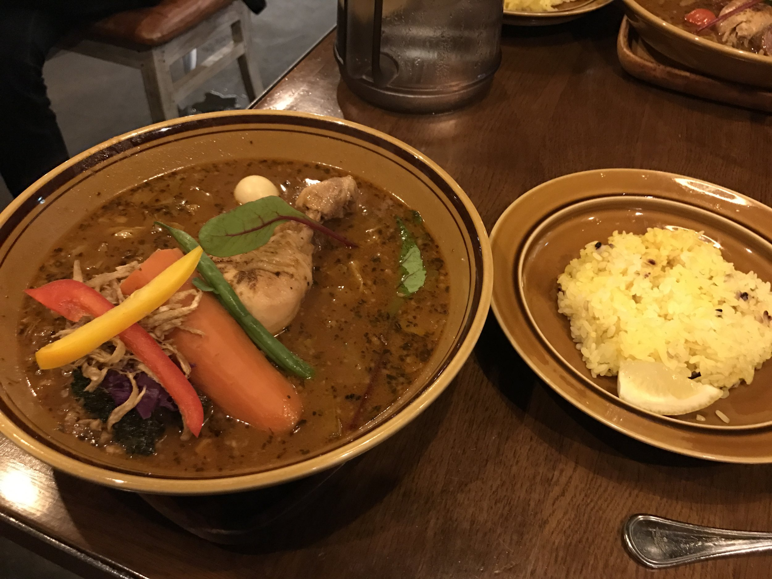 Sapporo's famed Soup Curry
