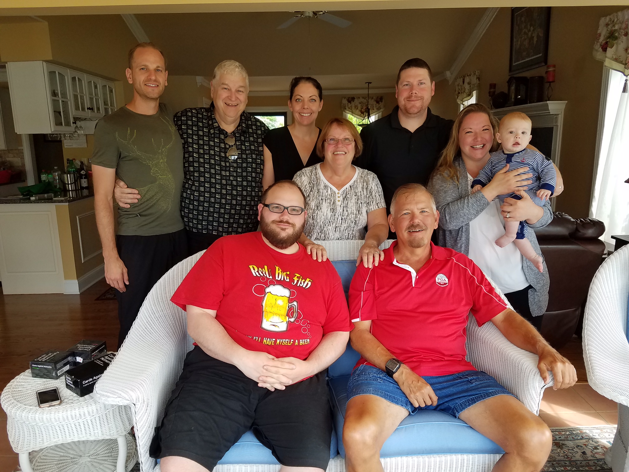 The Starnes/Neve/Argiropoulos clan in Tennessee.