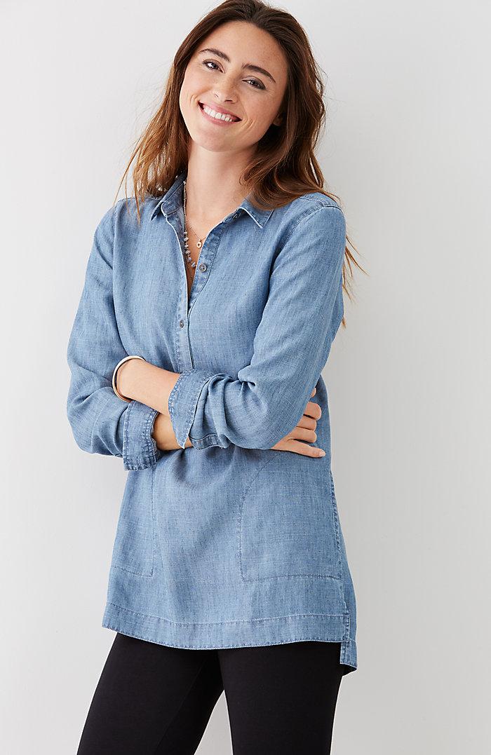 J Jill tencel indigo tunic.jpg