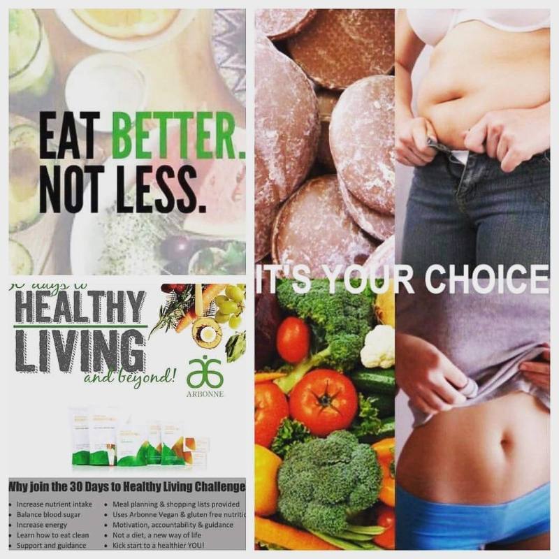 Take Our Healthy Living Challenge! - You'll Be Happy You Did!