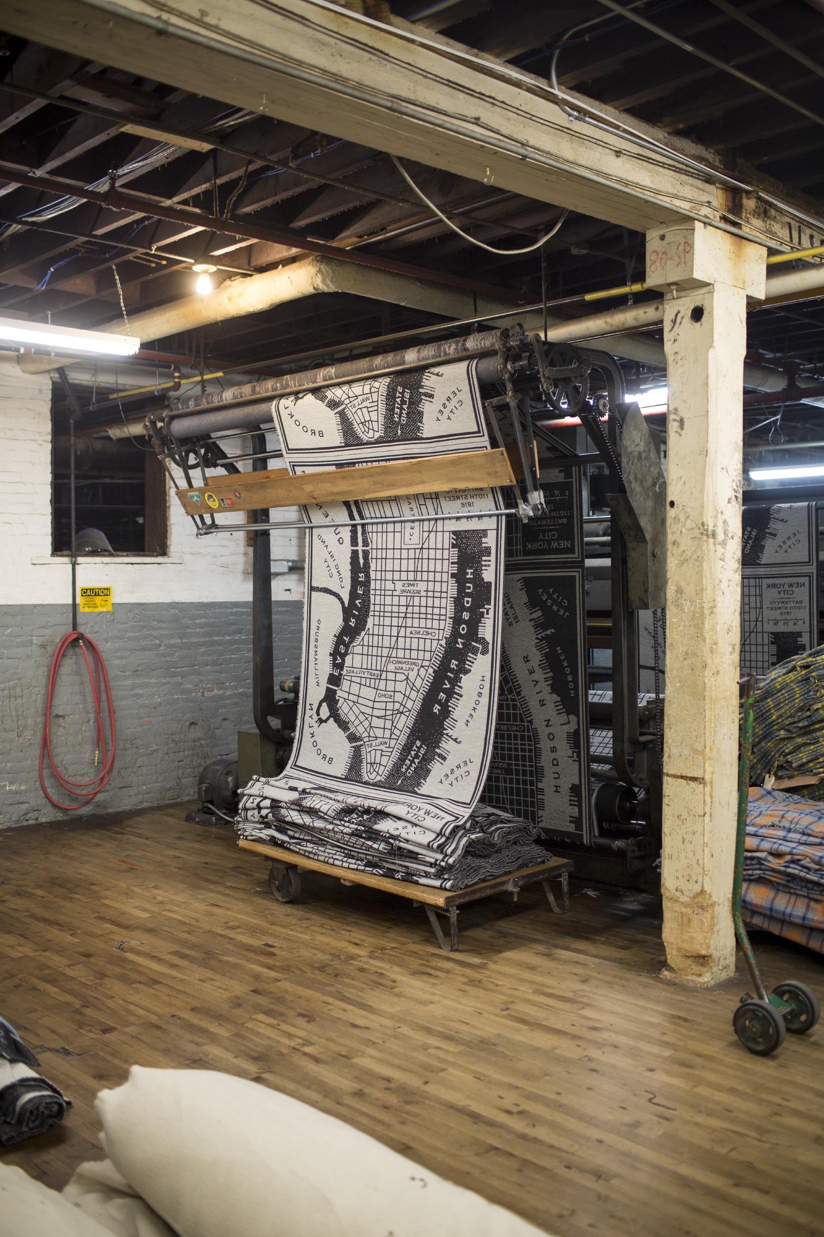 Faribault Woolen Mill for Monocle