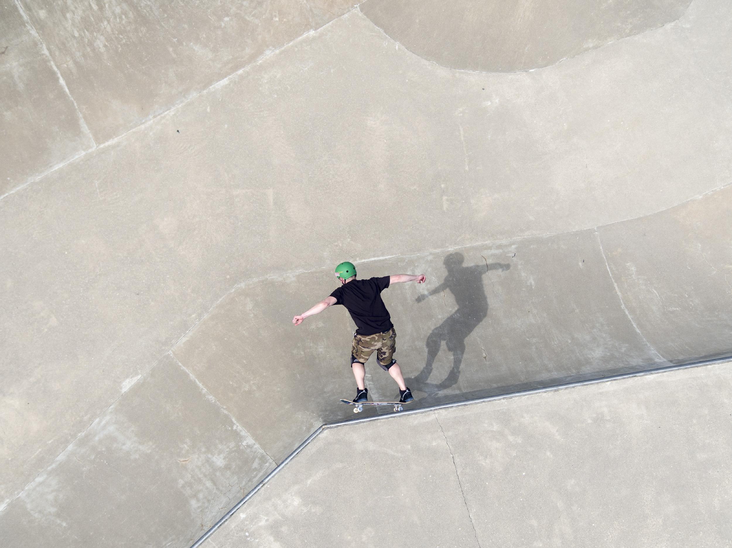 Skateboarding CEO for Inc. Magazine