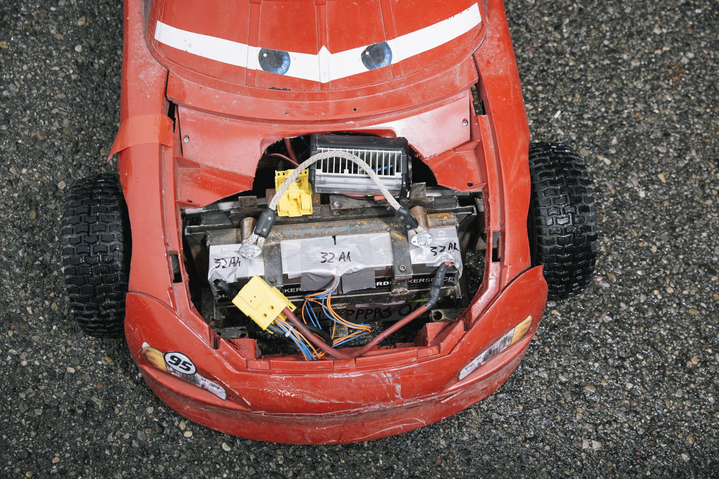 Power Wheels Racing