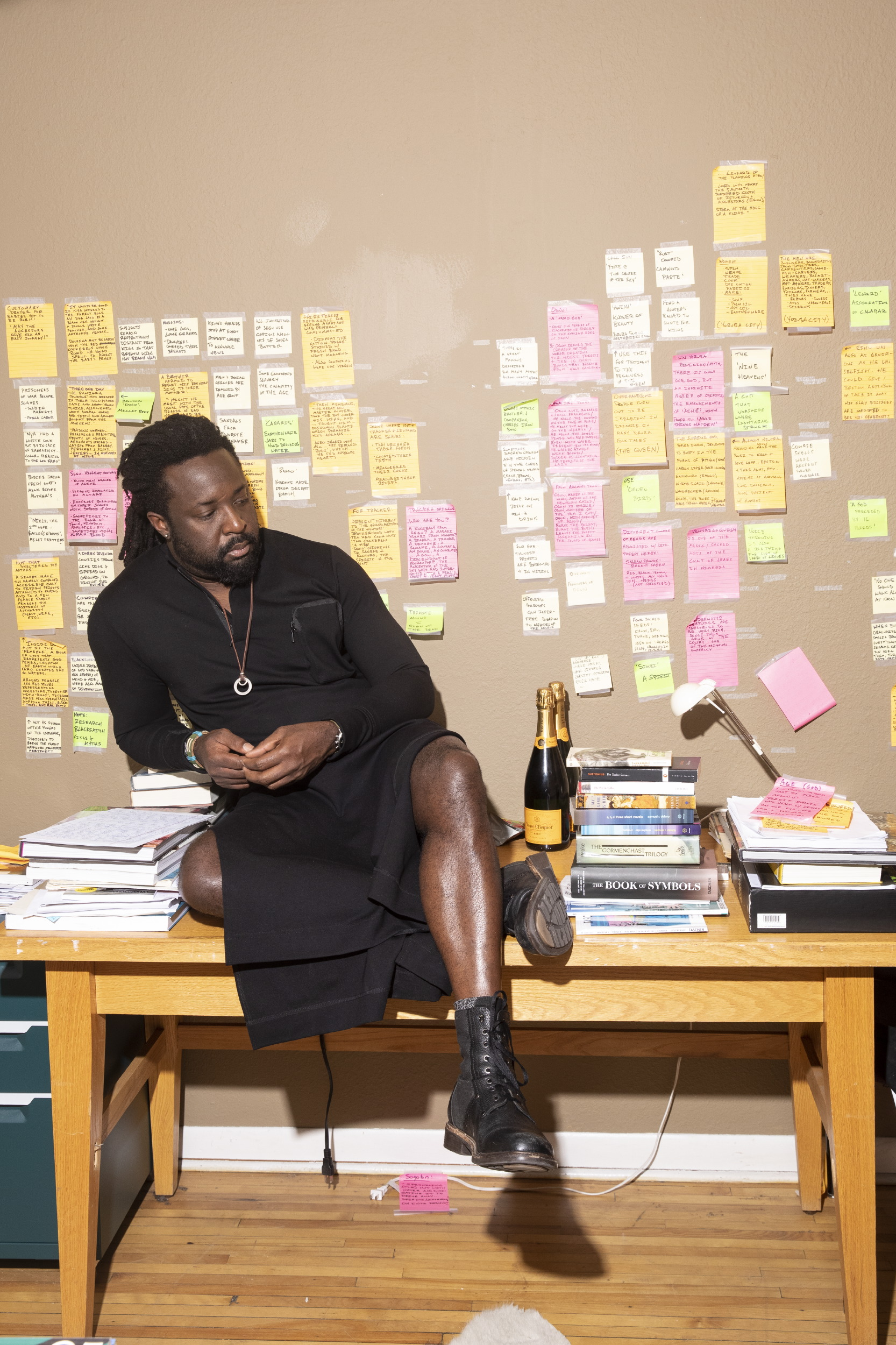 Marlon James for Vanity Fair