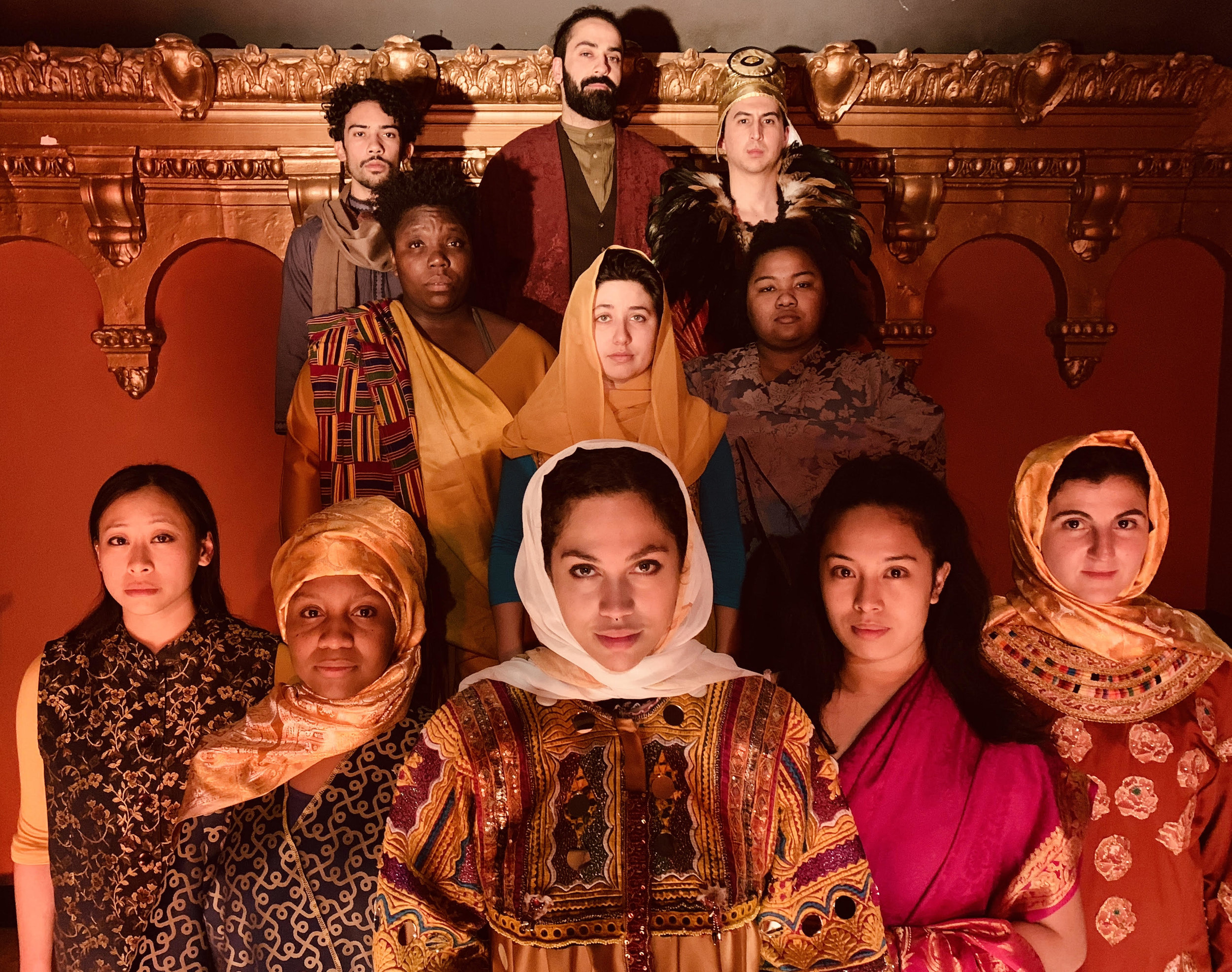 The Company of One Googol and One at the Brava Theater Dec 7-22, 2018