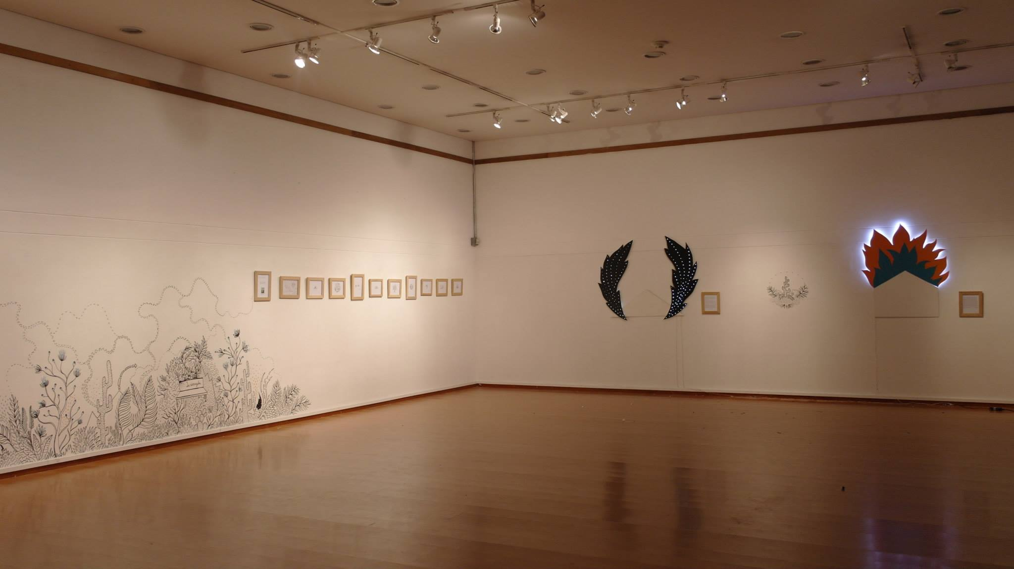 Exhibition, Biblioteca Belén, Medellín, Colombia