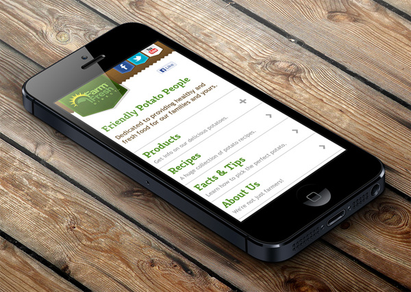 Farm Fresh Direct Mobile Site