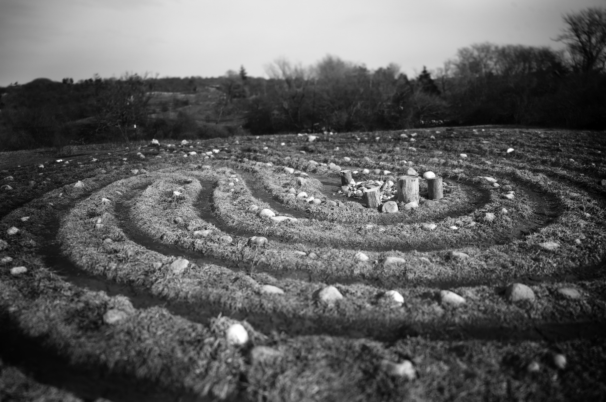 Labyrinth on Block Island