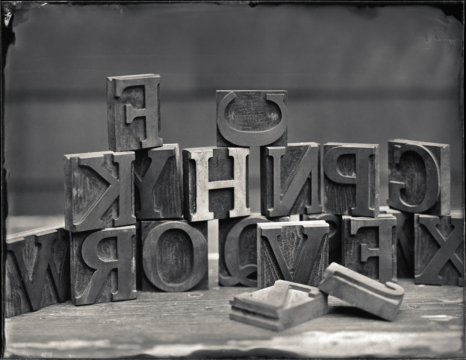 Letter Press Blocks