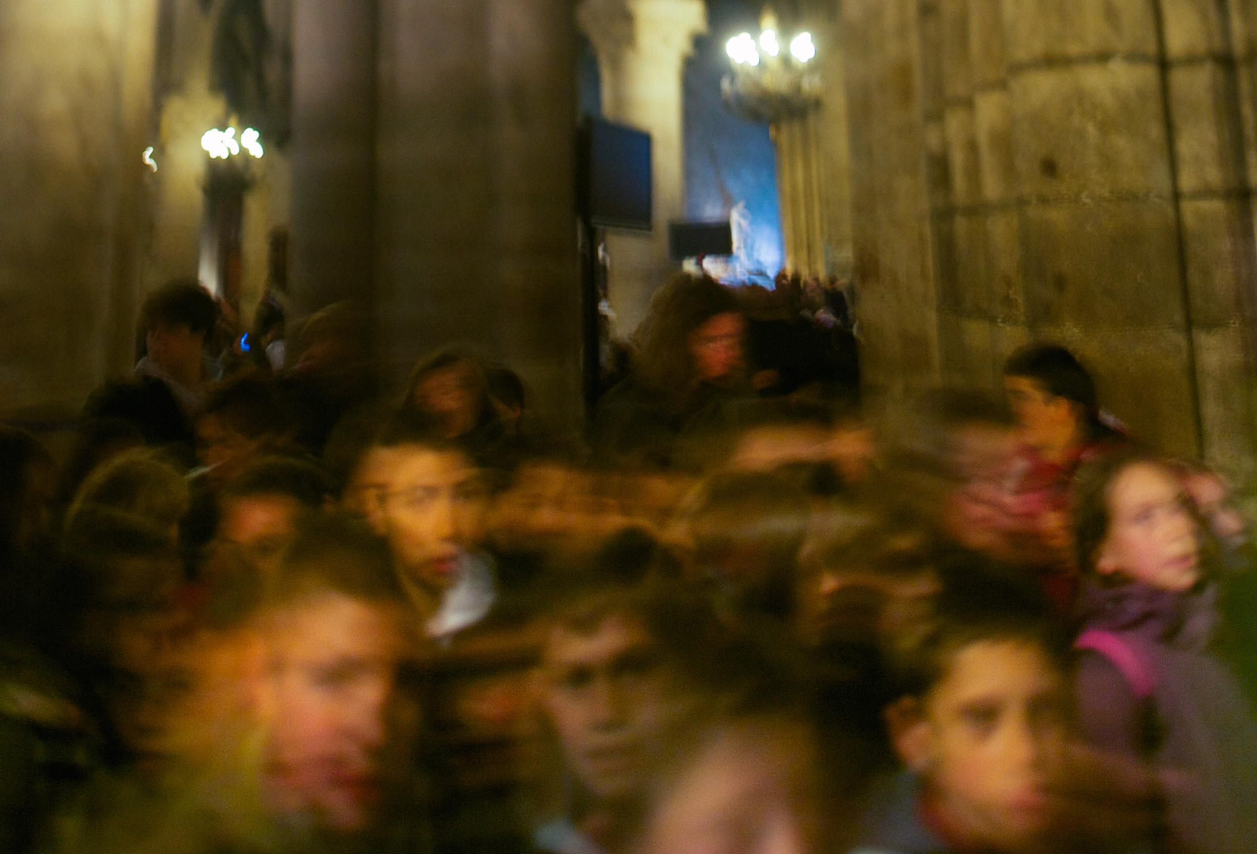 School Kids at Notre Dame