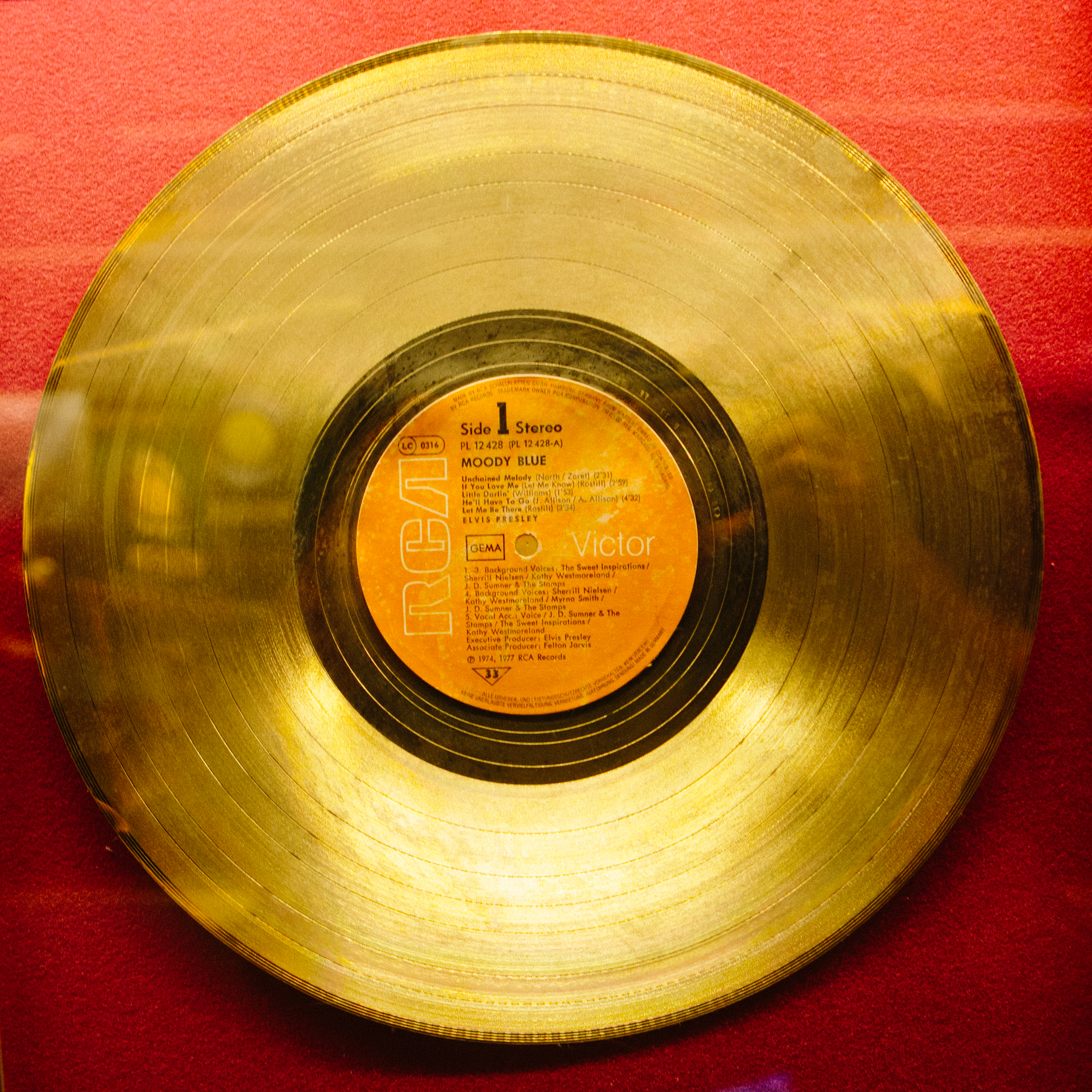 One of Many Gold Records