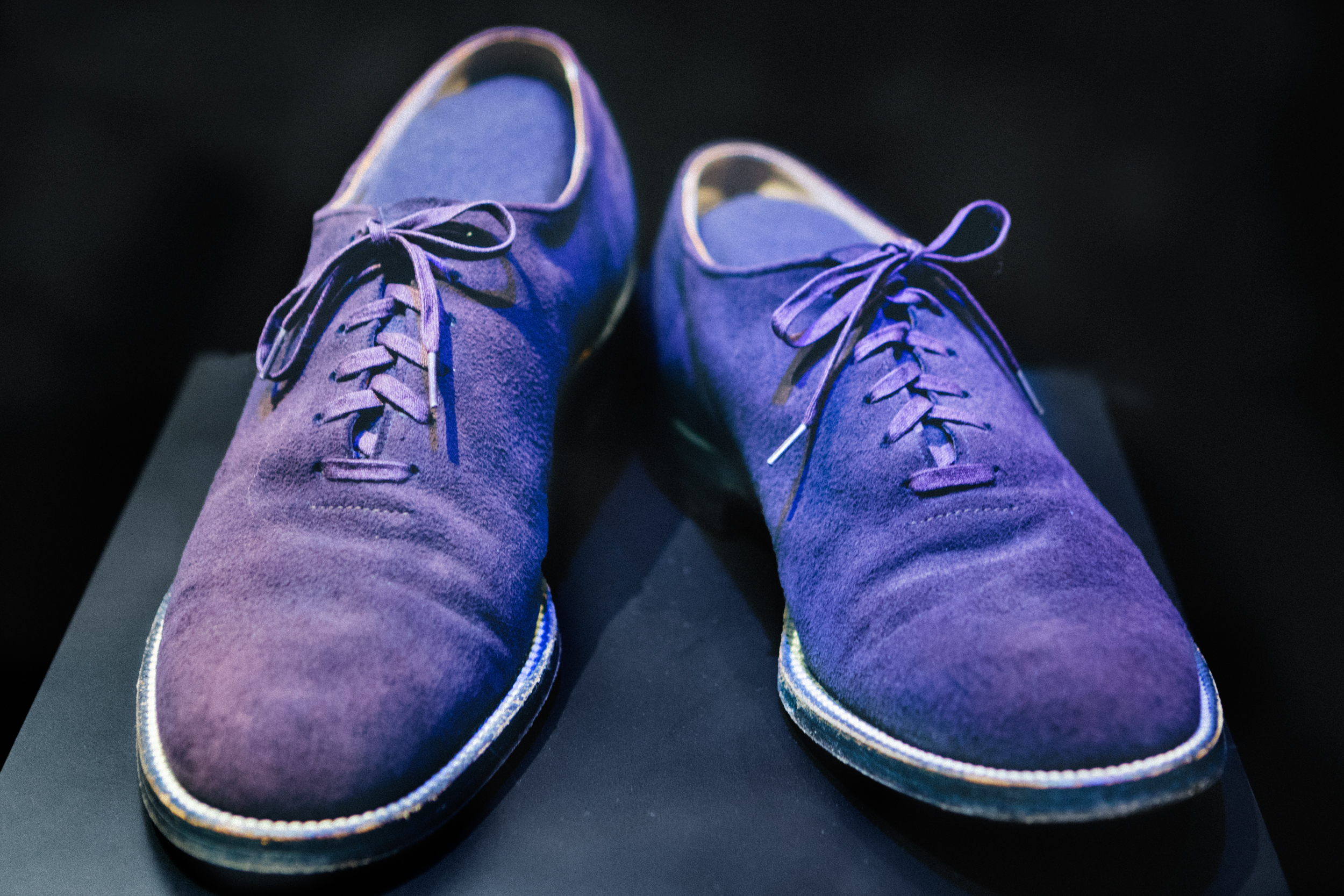 Carl Perkin's Blue Suede Shoes