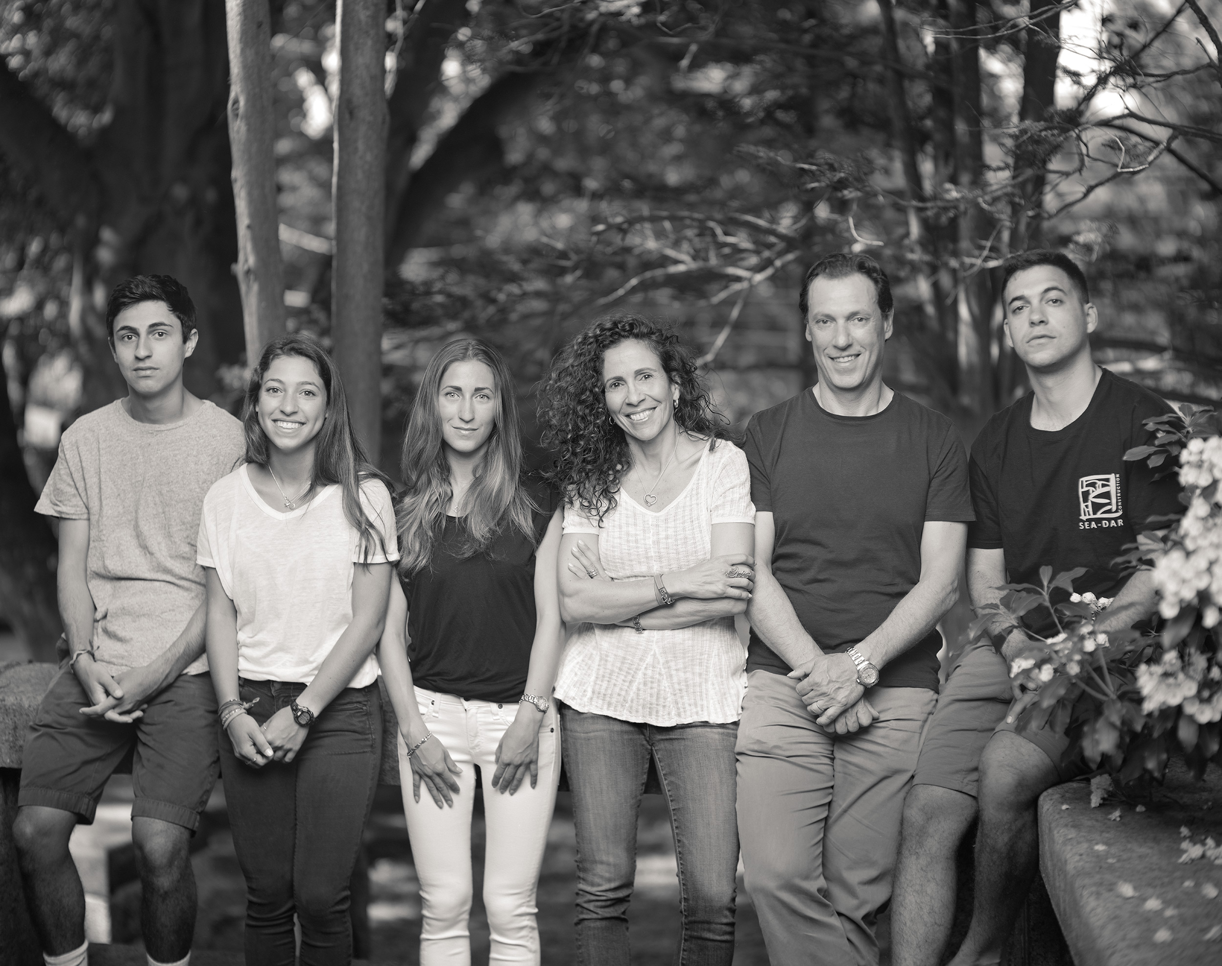 Rania Matar and her Family