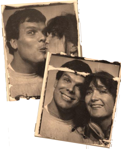 KEITH AND NANCY, CIRCA 1980