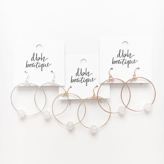 the jules hoops. silver, gold or rose gold? which one would you choose?