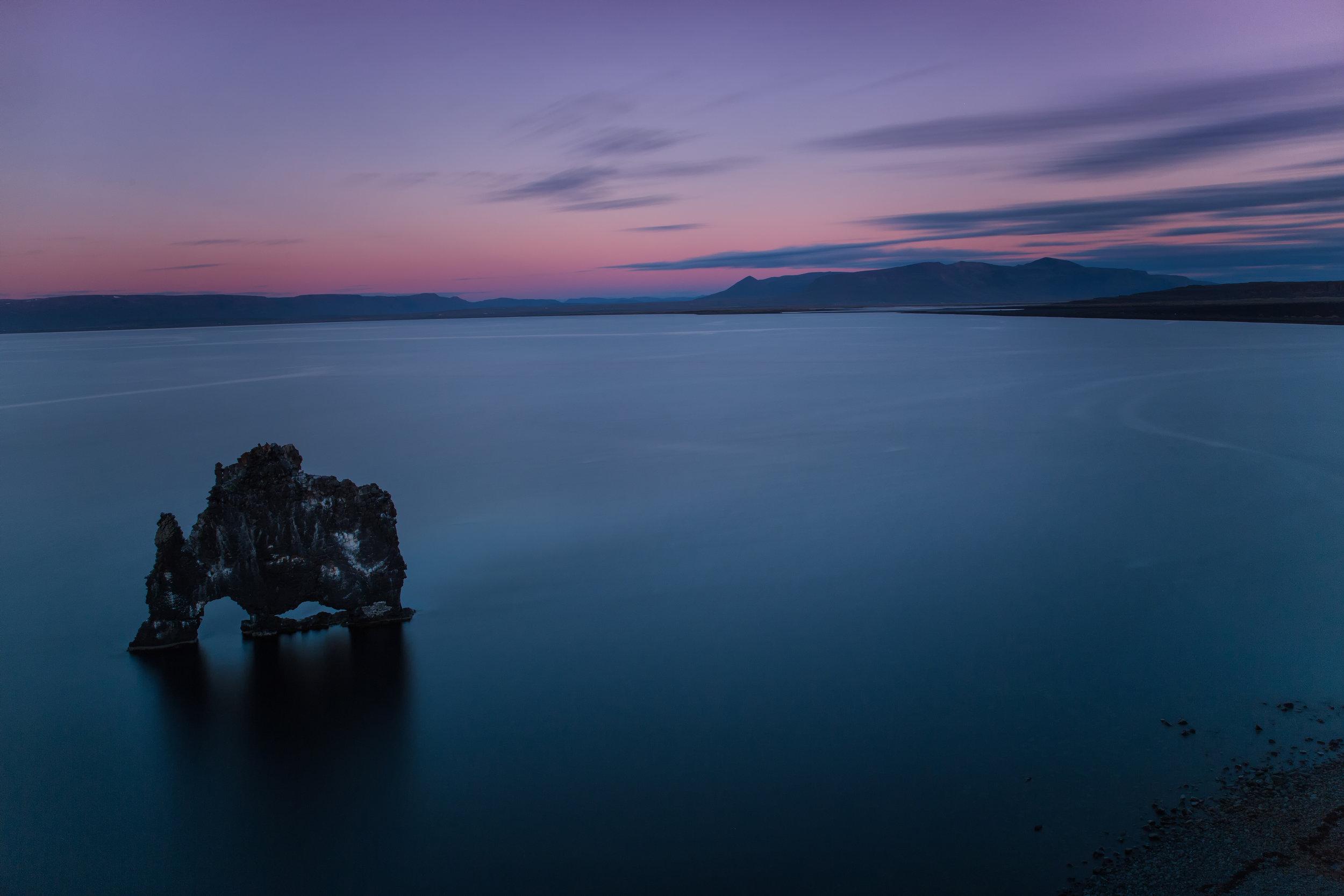 Hvítserkur Sunset