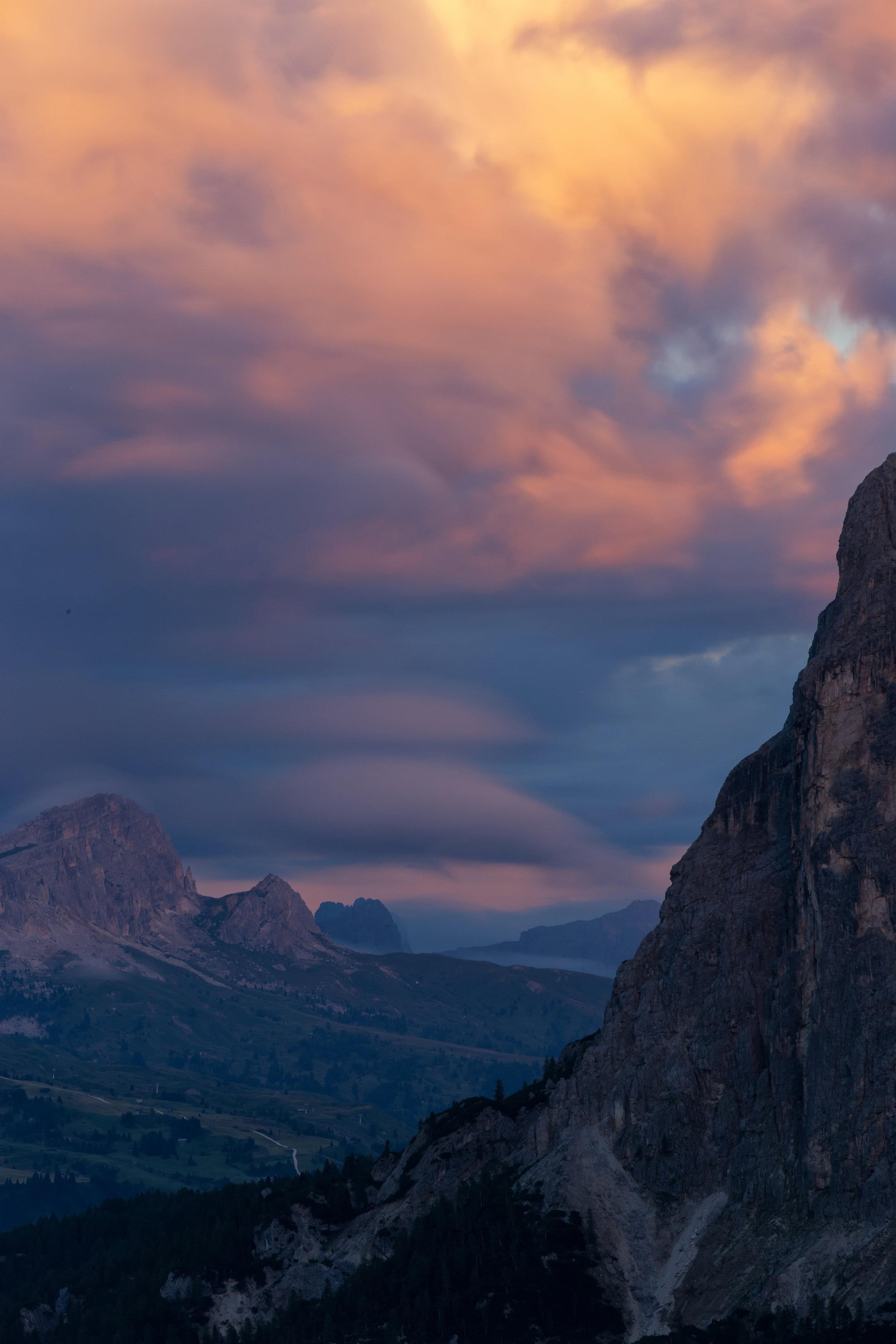 Dolomiti Tramonto (click to enlarge)
