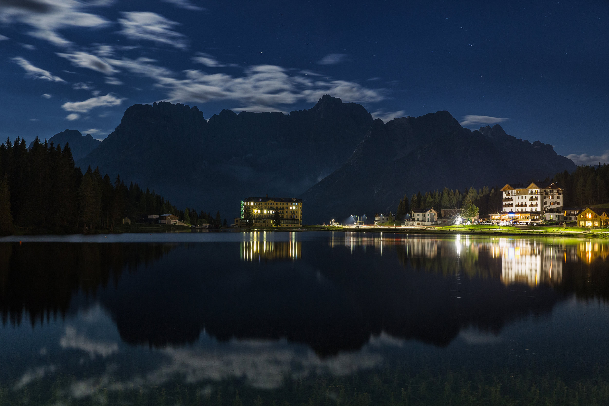 Moonlit Misurina (click to enlarge)