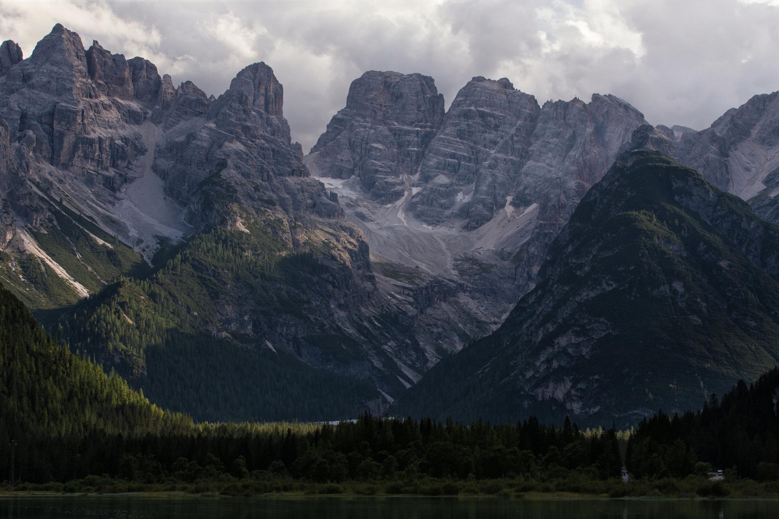 Monte Cristallo (click to enlarge)