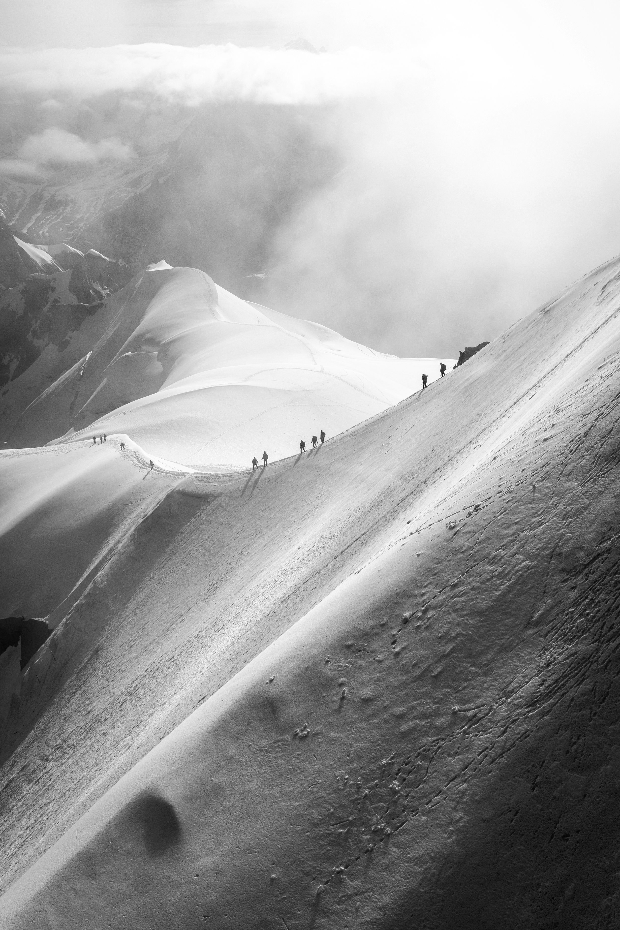 Into the White Abyss