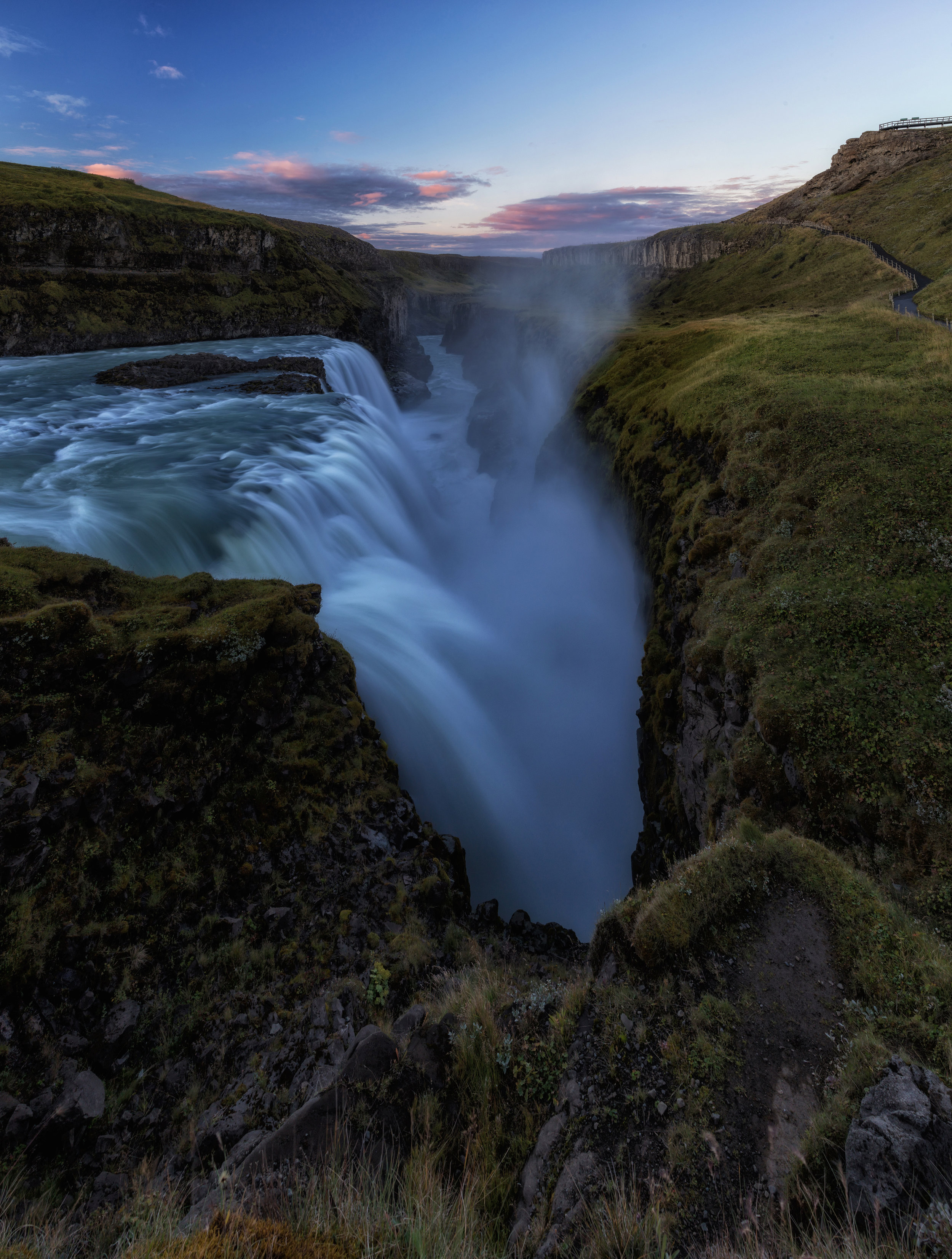 Gullfoss Sunrise