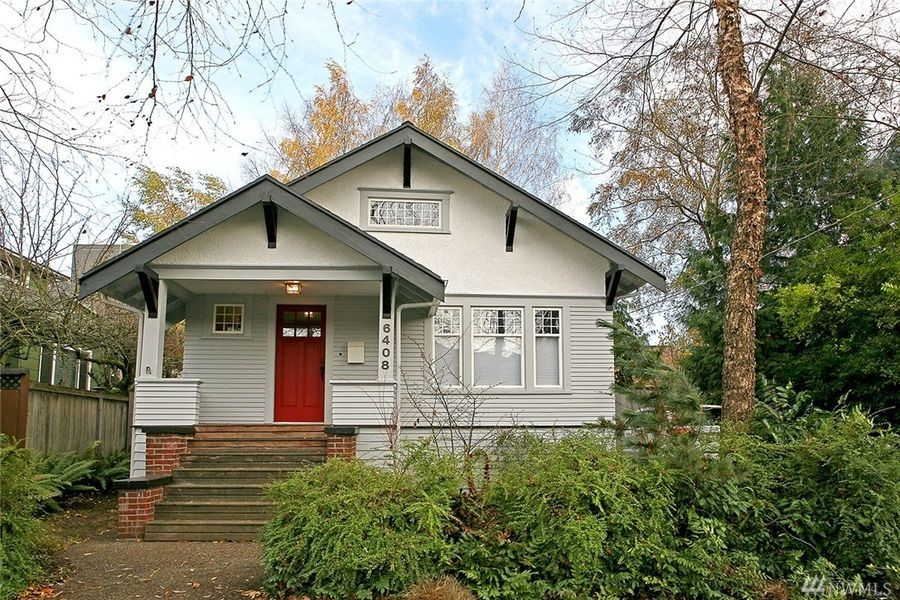 CONDO ALTERNATIVE: This single-family home at 6408 17th Avenue NW in Ballard was built in 1918 and is of similar size and price to downtown Seattle condominiums illustrating the demand on housing of all types, especially at price points below $600,000.