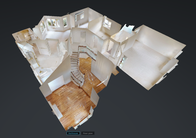 Tour home in 3D or Virtual Reality