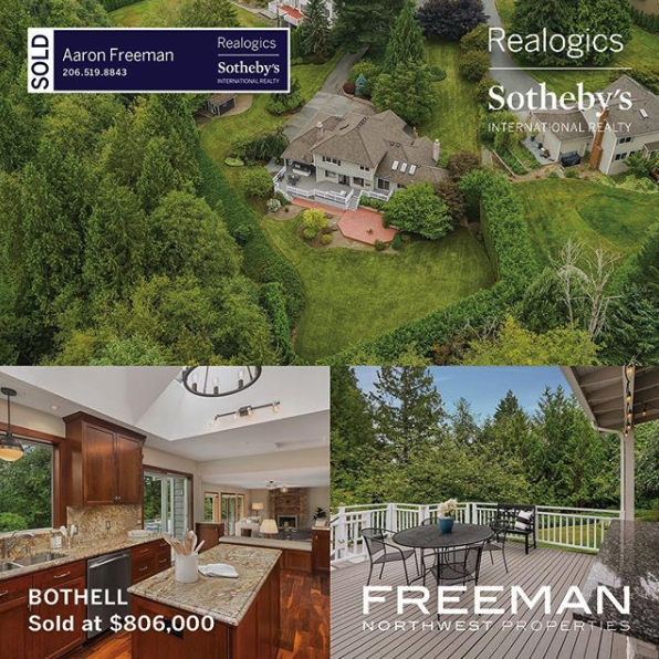 Sold in Bothell Washington