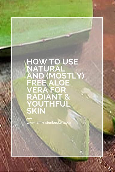 Save your favorite natural beauty tips in Pinterest