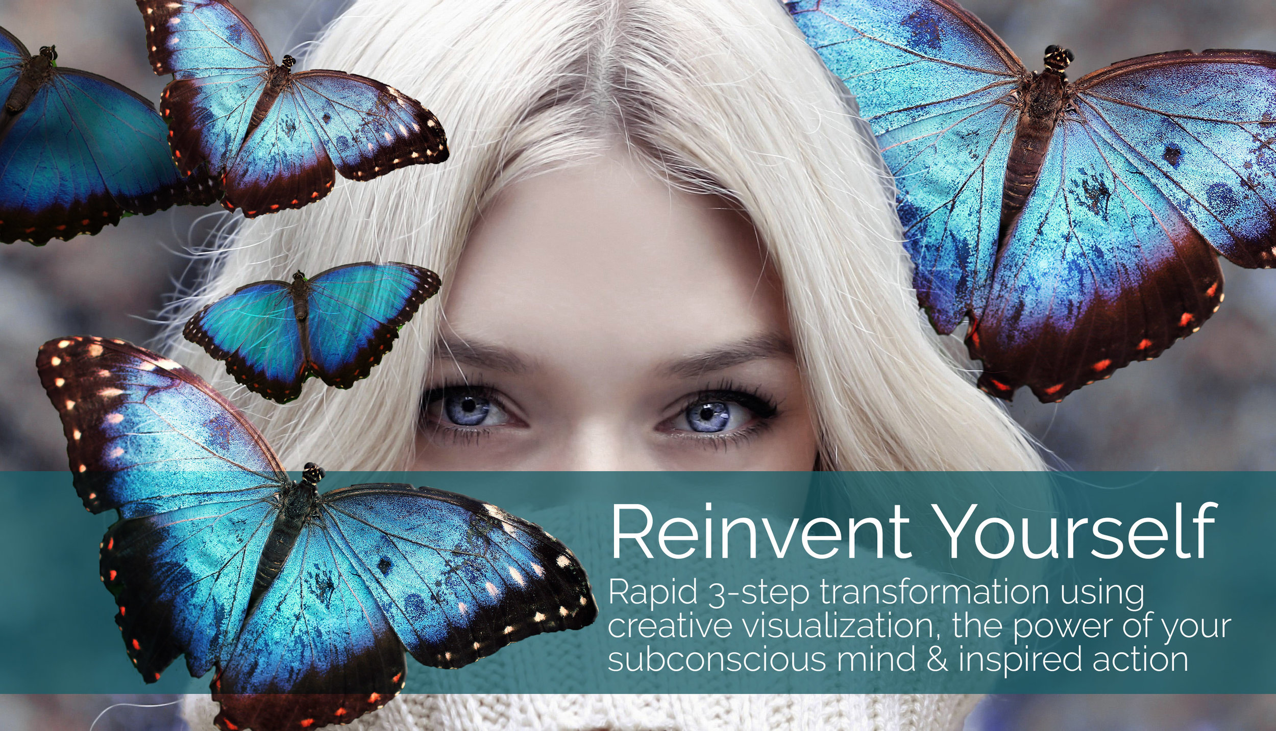 Enroll today  in Reinvent Yourself