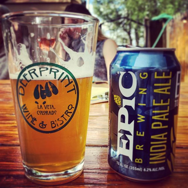 Relaxing in the CO mountains! #coloradobeer #co #relax
