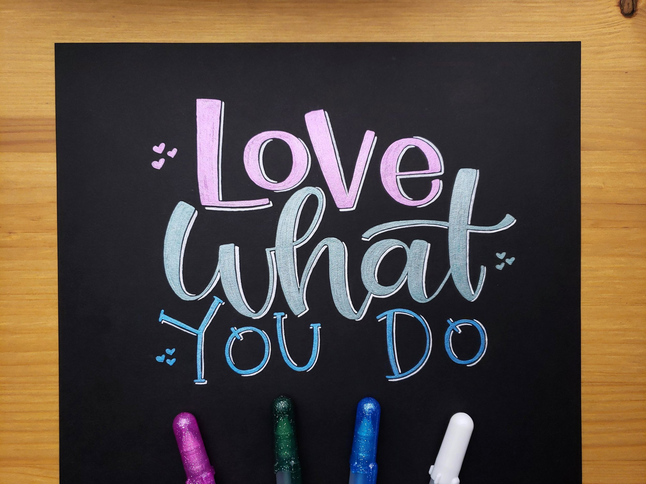 love-what-you-do-letters-by-gigi-hand-lettering-los-angeles-artist-custom-typography-modern-calligraphy-instagram-art
