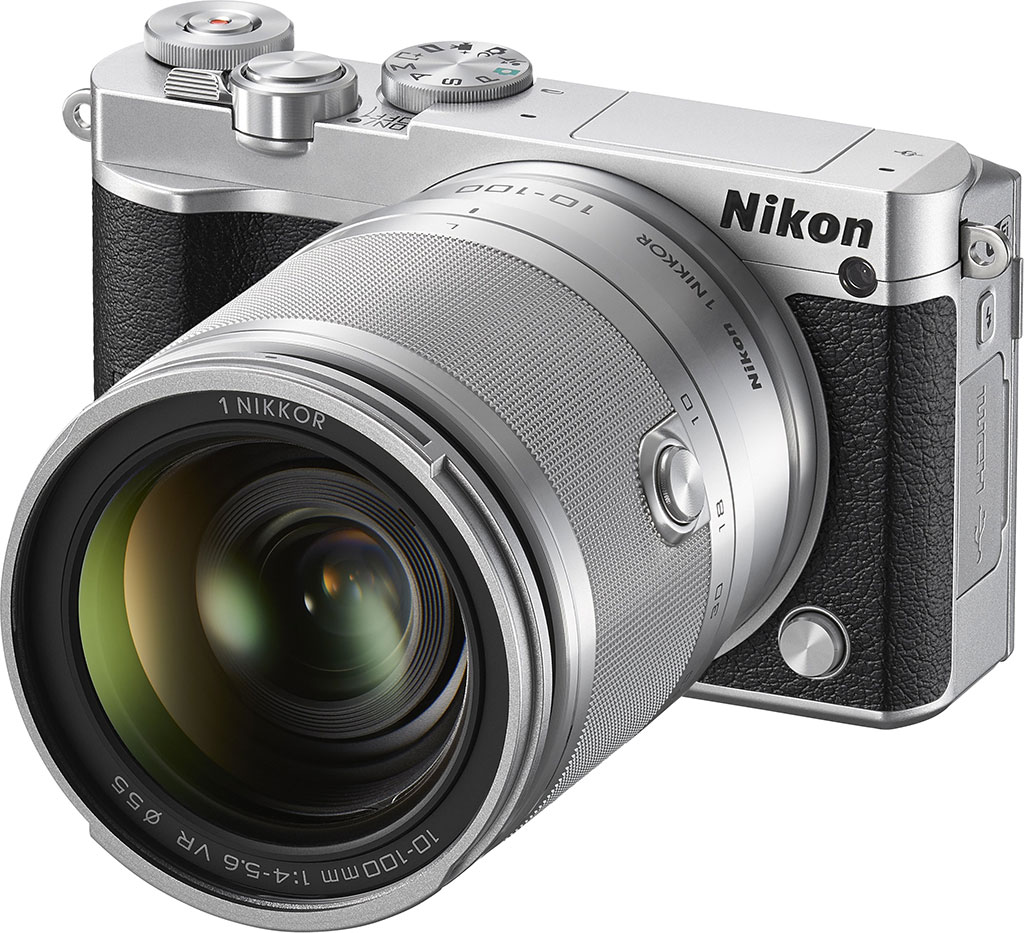 Nikon 1 J5 with 10mm-100mm Zoom