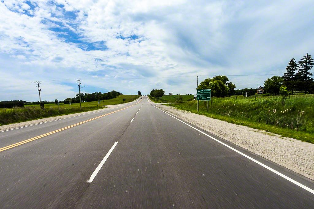 Highway 89 Heading West