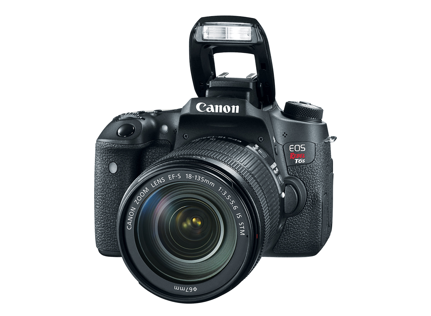 Canon T6s with 18-135/3.5-5.6 IS STM