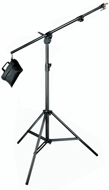 Manfrotto 420B Kit including stand, boom and sandbag
