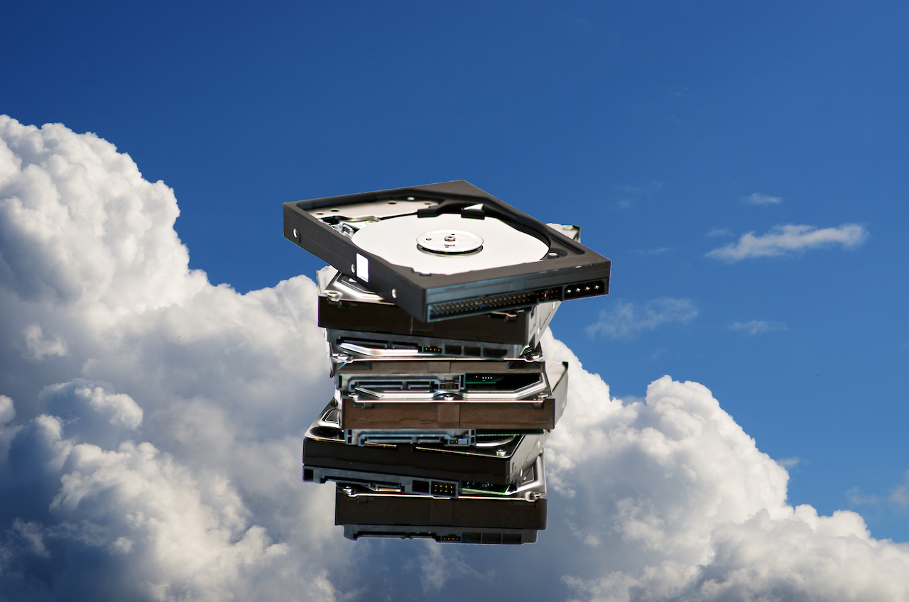 Cloud storage doesn't look exactly like this in real life