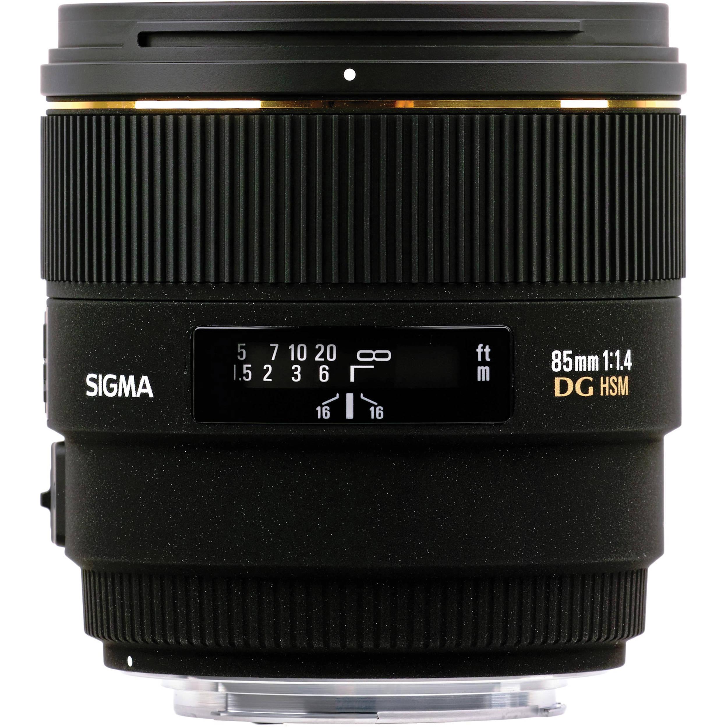 Sigma's 85mm f/1.4 DG HSM lens