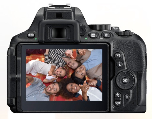 The D5600 is compact with a decent rear panel layout and a nice large LCD
