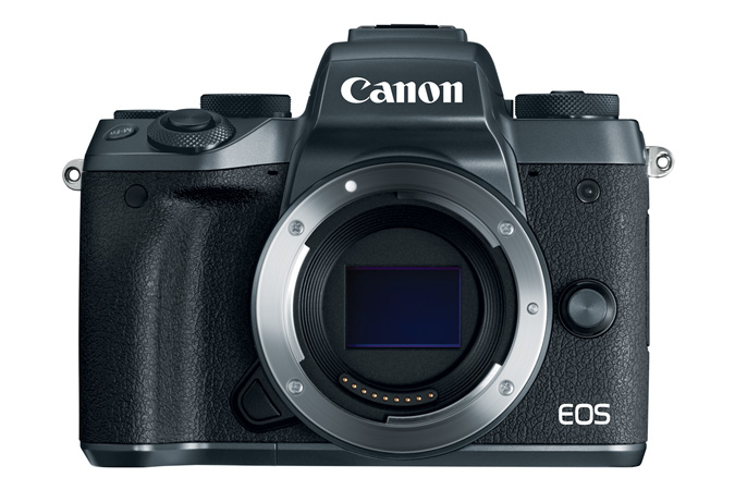 EOS-M5 Body - nice layout belies the small size