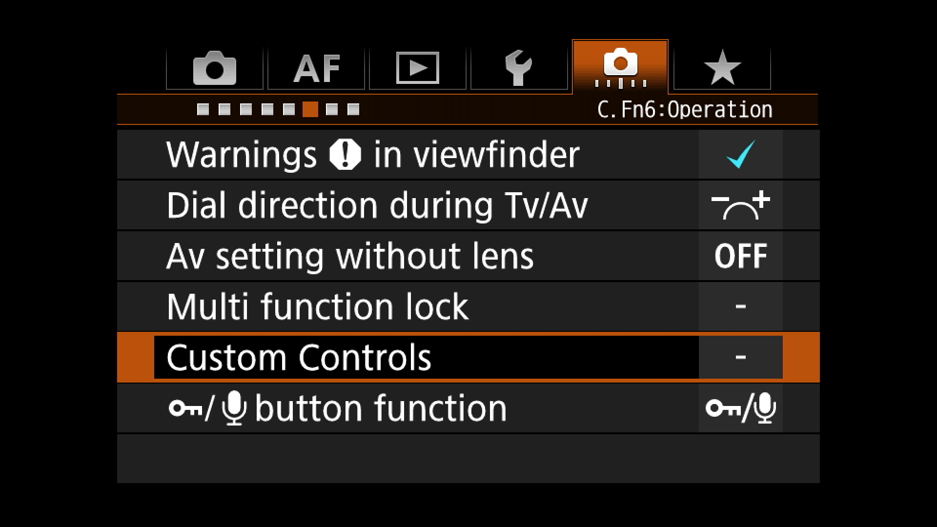 Step One - locate custom controls, button customization