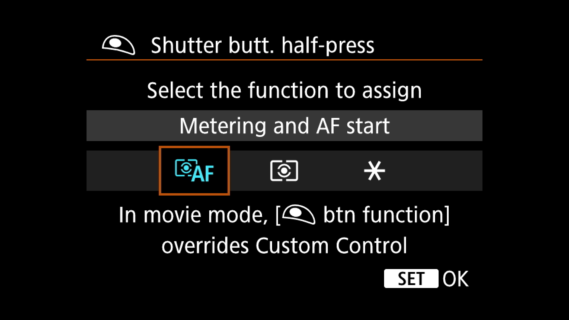 Step Three : Get to the option where you can set the functions that you want the release to perform