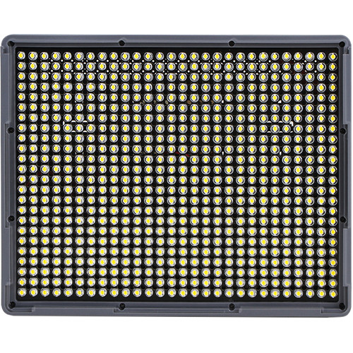 Aputure HR 672S is a 5500K fully dimmable LED panel. About $245 USD