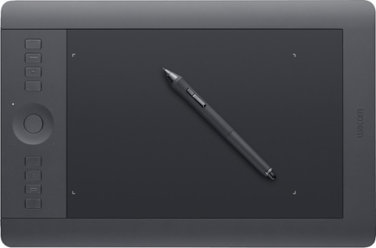 A tablet interface makes editing more precise and faster