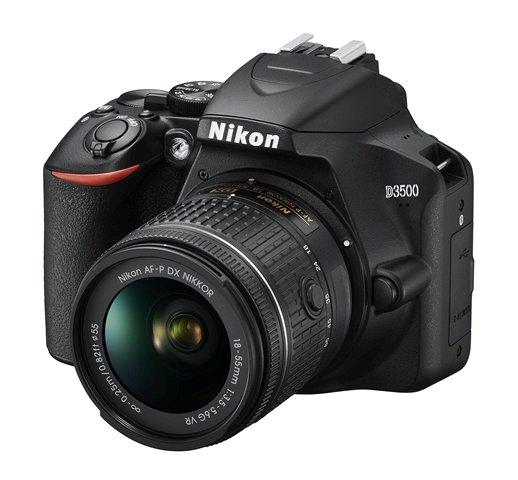 Nikon D3500 with 18-55 VR lens