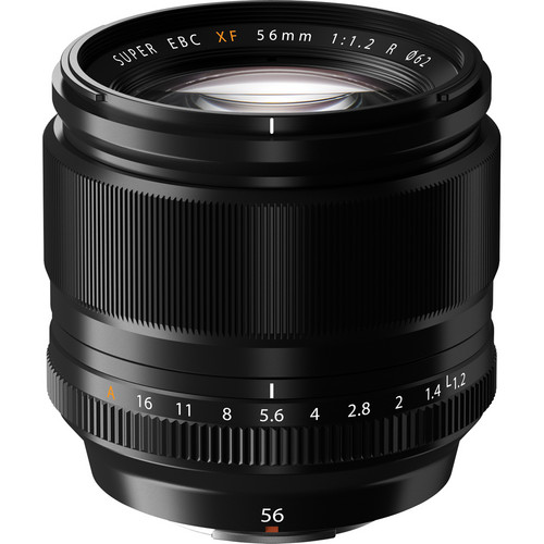 The other lens I would go with to start, the 56mm f/1.2  Incredible speed and focus performance in an ideal street portrait focal length.  Built tough and a great complement to the X-Pro 2