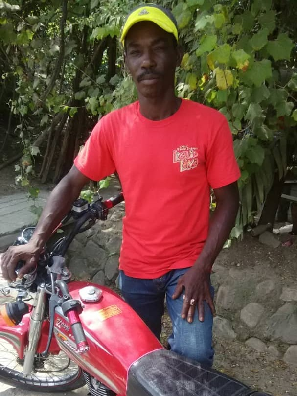 - Purchase 3 motorcycles for Samuel, Adruin and Larousse to each start their motorcycle taxi service.
