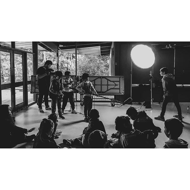 We had such a blast teaching 25 young people about filmmaking yesterday! Thanks to @misfitprojectau and @yourlibraryerl for having us!