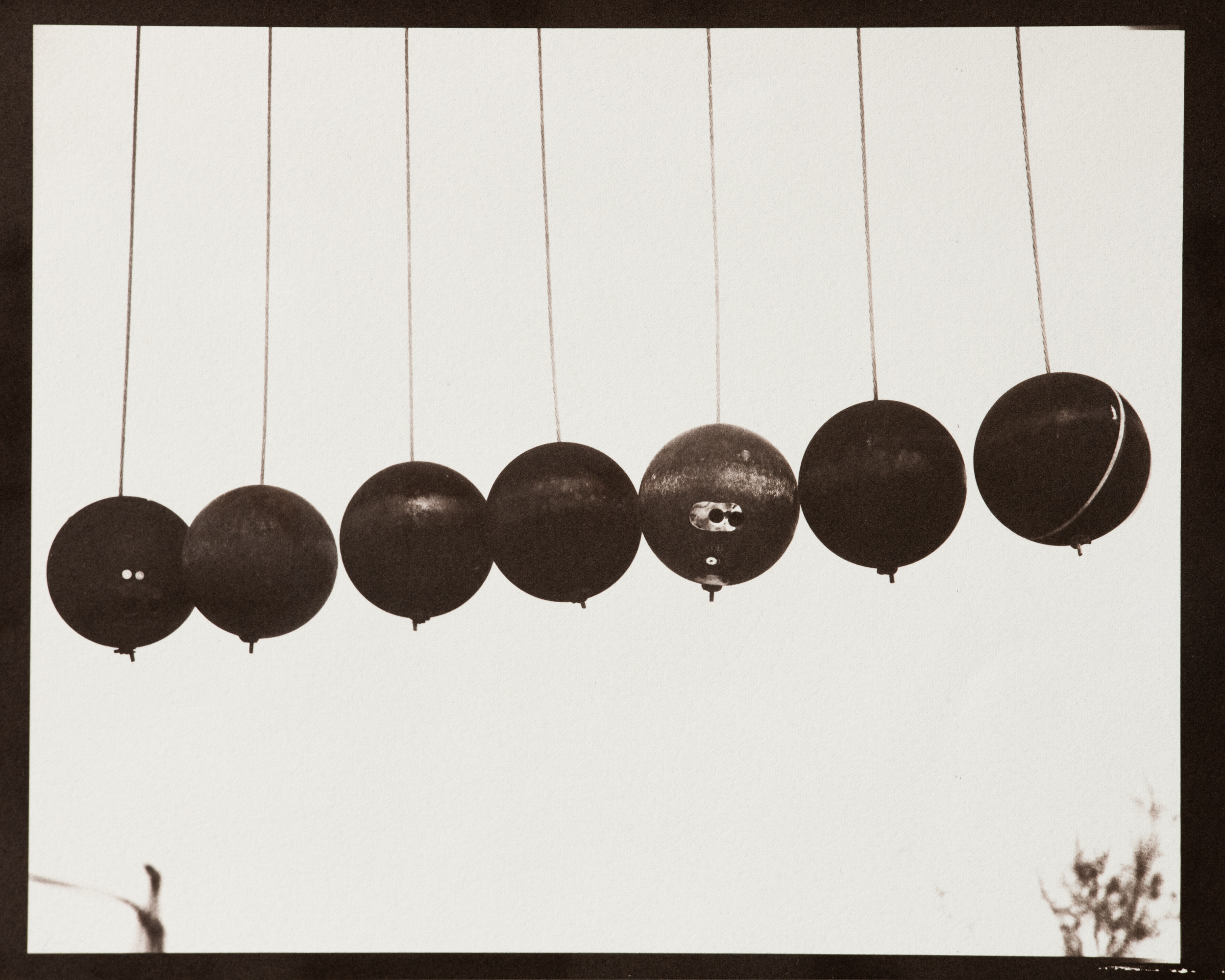 Stringed Bowling Balls (Noah Purifoy)